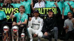 F1 2017 GP Inghilterra, doppietta Mercedes