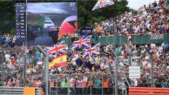 F1 2017 GP Inghilterra, il pubblico sulle tribune