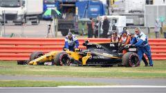 F1 2017 GP Inghilterra, il ritiro di Jolyon Palmer