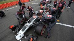 F1 2017 GP Inghilterra, Kevin Magnussen in griglia