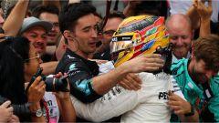F1 2017 GP Inghilterra, Lewis Hamilton vince a Silverstone