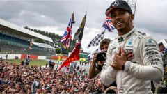 F1 2017 GP Inghilterra, Lewis Hamilton vince a Silverstone