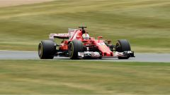 F1 2017 GP Inghilterra, Sebastian Vettel