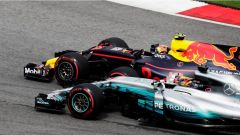 F1 2017 GP Malesia, Hamilton contro Verstappen