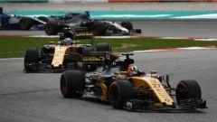 F1 2017 GP Malesia, Hulkenberg e Palmer