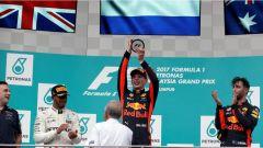 F1 2017 GP Malesia, il podio