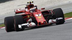 F1 2017 GP Malesia, Kimi Raikkonen in azione