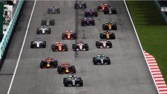 F1 2017 GP Malesia, la partenza