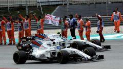 F1 2017 GP Malesia, le Williams di Massa e Stroll