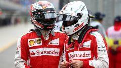 F1 2017 GP Malesia, Sebastian Vettel e Kimi Raikkonen