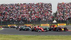 F1 2017 GP Messico, prima curva