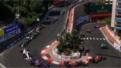 F1 2017 GP Monaco, il tornantino Fairmont-Hairpin