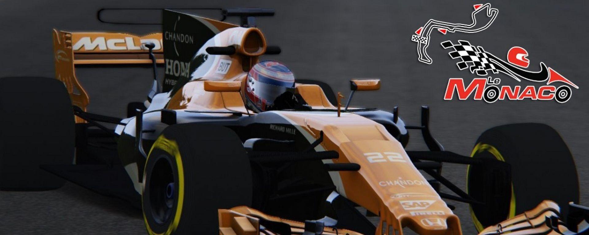 F1 2017 GP Monaco, Jenson Button