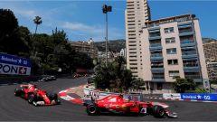 F1 2017 GP Monaco, Kimi Raikkonen in testa