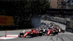 F1 2017 GP Monaco, partenza