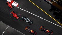 F1 2017 GP Monaco, prima curva