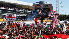 F1 2017 GP Monza, il podio del GP d'Italia