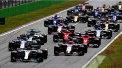 F1 2017 GP Monza, la partenza
