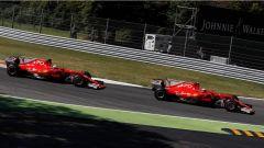 F1 2017 GP Monza, le Ferrari in azione