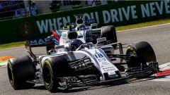 F1 2017 GP Monza, le Williams in azione