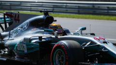 F1 2017 GP Monza, Lewis Hamilton in azione
