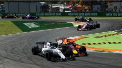 F1 2017 GP Monza, Massa vs Verstappen in prima variante