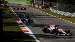 F1 2017 GP Monza, monoposto in azione