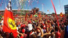 F1 2017 GP Monza, tifosi Ferrari