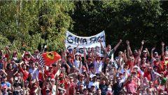 F1 2017 GP Monza, tifosi in tribuna