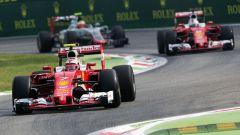 F1 2017 GP Monza, Vettel e Raikkonen