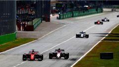 F1 2017 GP Monza, Vettel vs Ocon sul rettilineo