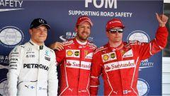 F1 2017 GP Russia, i primi tre