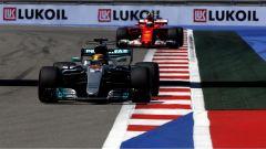 F1 2017 GP Russia, Lewis Hamilton