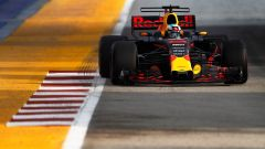 F1 2017 GP Singapore, Daniel Ricciardo in azione