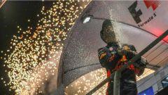 F1 2017 GP Singapore, Daniel Ricciardo secondo sul Marina Bay