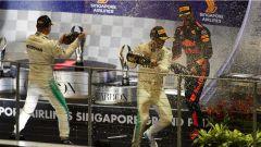 F1 2017 GP Singapore, la festa del podio