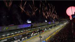 F1 2017 GP Singapore, la festa in circuito