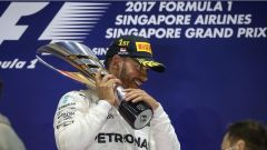 F1 2017 GP Singapore, Lewis Hamilton al 60esimo successo in Formula 1