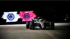 F1 2017 GP Singapore, Lewis Hamilton in azione