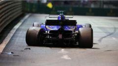 F1 2017 GP Singapore, l'incidente di Marcus Ericsson