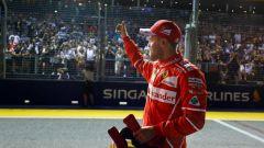 F1 2017, GP Singapore, qualifiche: Vettel e la Ferrari brillano sotto il cielo stellato del Marina Bay