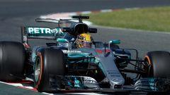 F1 2017 GP Spagna, Lewis Hamilton