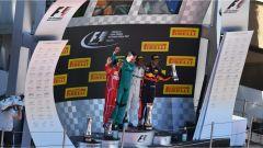 F1 2017 GP Spagna, podio