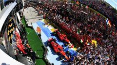 F1 2017 GP Ungheria, cerimonia del podio