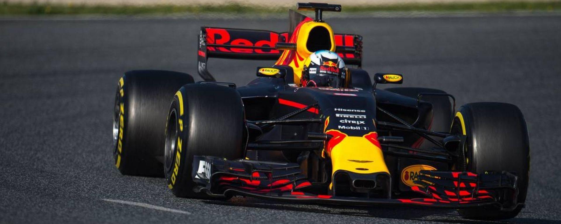 F1 2017 GP Ungheria, Daniel Ricciardo