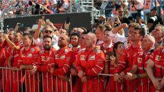 F1 2017 GP Ungheria, gli uomini della Ferrari
