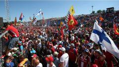 F1 2017 GP Ungheria, i tifosi Ferrari
