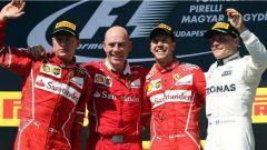 F1 2017 GP Ungheria, il podio