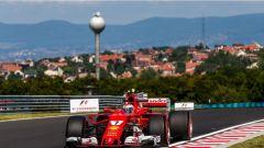 F1 2017 GP Ungheria, Kimi Raikkonen