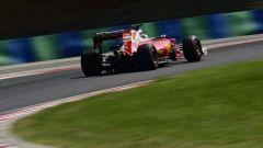 F1 2017 GP Ungheria, la Ferrari di Sebastian Vettel